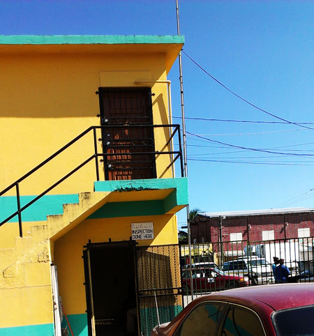 Belize City Car Inspection