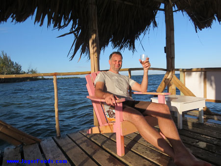 Cheers from Belize