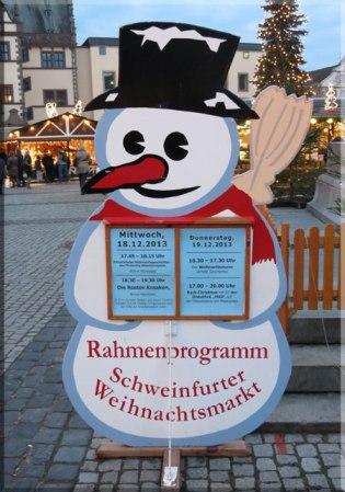 Christmas Market Schweinfurt Germany