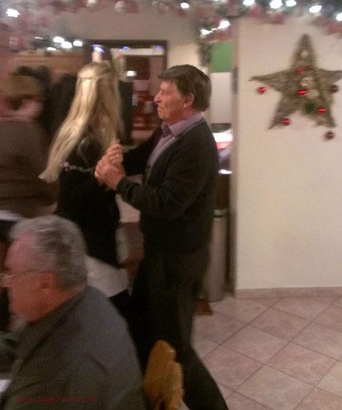 Dancing in a German Gasthaus