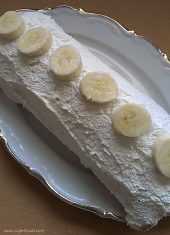 Easy to make Banana Cake Roll