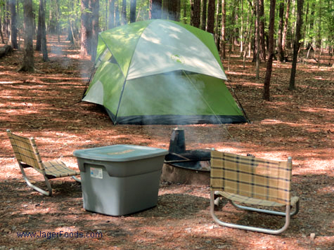 Lake Wateree Camp Site 43