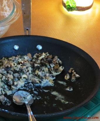 Raviloli Mushroom Filling