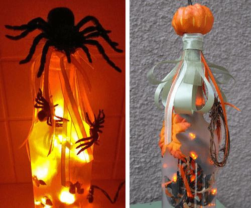 Fall Bottle Lights