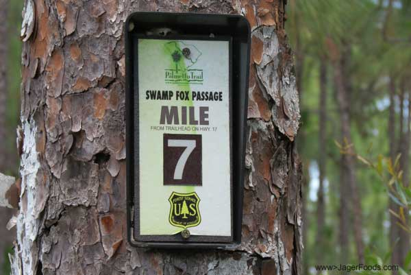 Swamp Fox Passage Mile 7 in SC