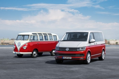 VW Camper Vans, the T1 and new T6.