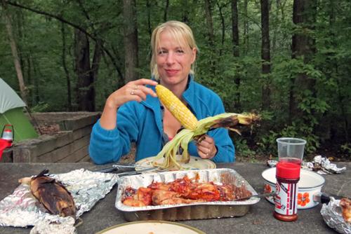 Silke Camp Cooking
