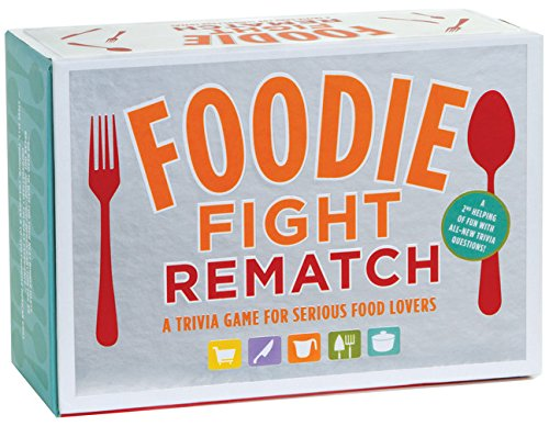 Trivia game for food lovers