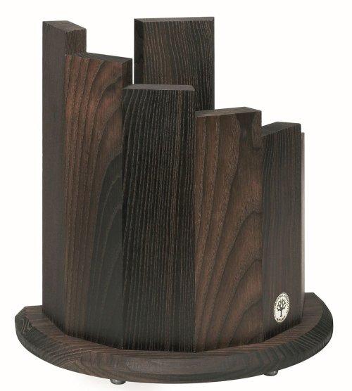 Boker magnetic wood knife block