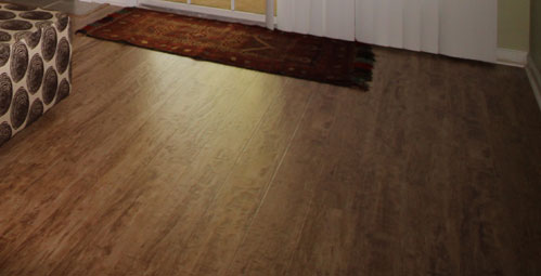 Our First Laminate Flooring Project