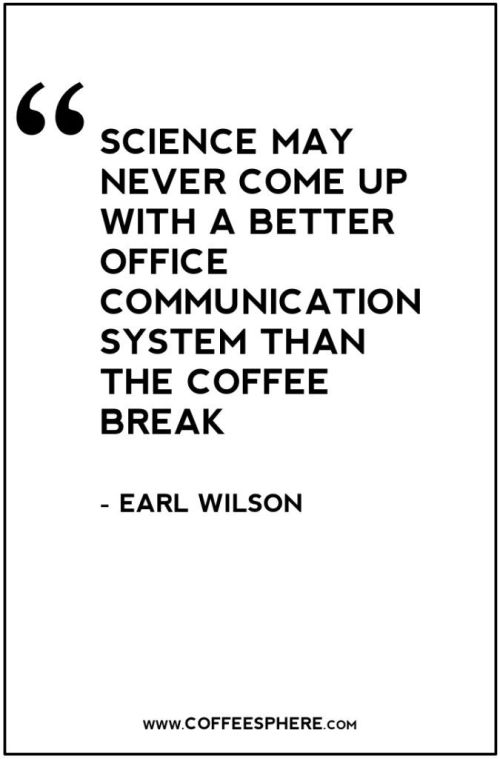 coffeebreak quote