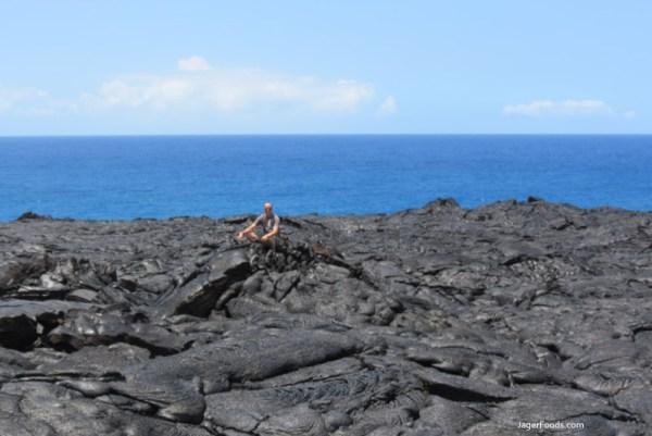 Lava Flow To Ocean