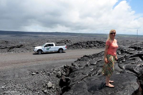 Silke in the Volcano Field