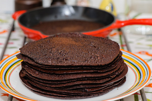 Blood Pancakes and other weird pancake recipes