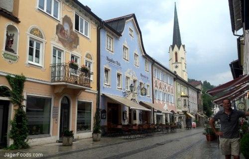The town of Partenkirchen