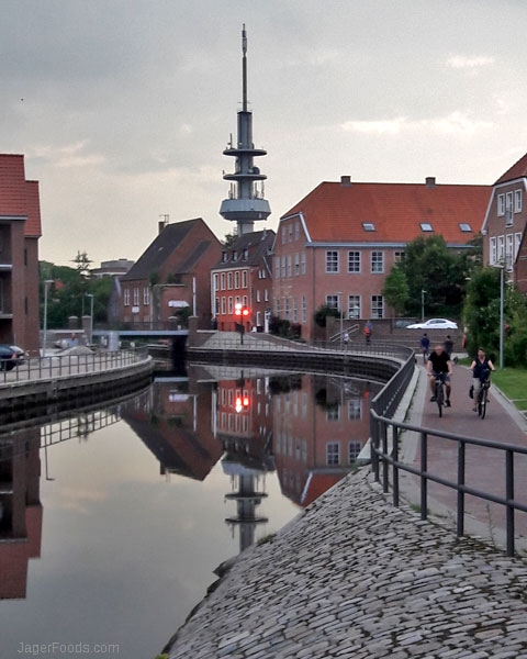 Waterways in Emden, Germany