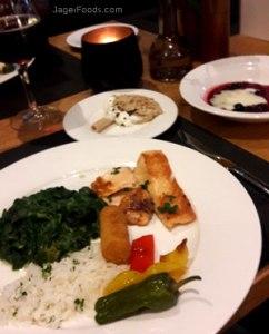 Dinner at the Upstalboom Parkhotel