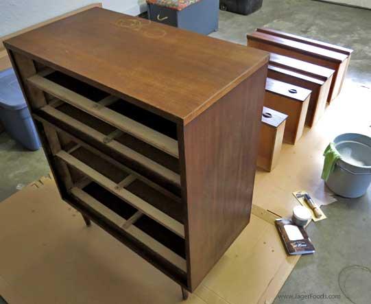 Bassett Furniture Dresser Redo with One Step Paint