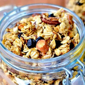 Adventure approved Blueberry Banana Gluten Free Granola