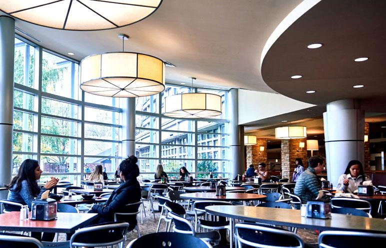 Boston College Cafeteria
