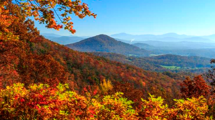 Asheville, NC, in the fall.