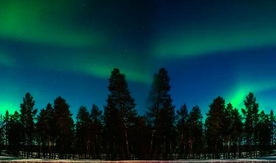 Northern Lights in Scandinavia
