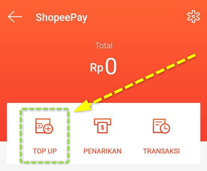 Top Up Saldo Shopeepay