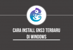 cara install gns3 di windows