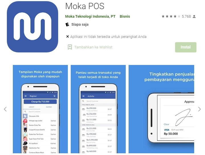 Aplikasi Kasir Android Gratis Terbaik