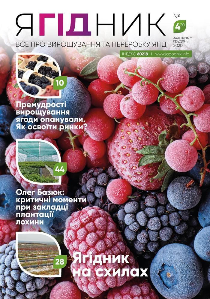 """Доступна електронна версія журналу """"Ягідник"""" №4!"""