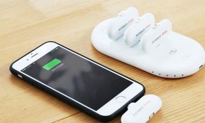 Finger Pow, Solusi Nyaman Mengisi Baterai Smartphone