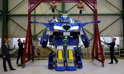 Bukan Fiksi Lagi, Kini Robot Transformer Sudah Hadir di Jepang