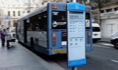 eStop, Papan Informasi Digital yang Canggih di Halte Bus