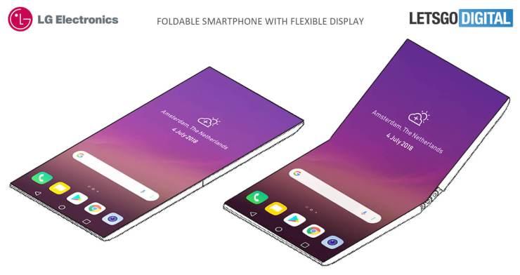 LG Membuat Ponsel Lipat dan Siap Bersaing dengan Merek Lain