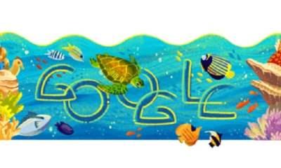 Taman Nasional Bunaken Menjadi Google Doodle Hari Ini