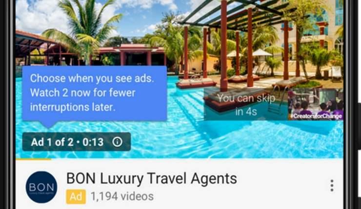 YouTube Akan Putar 2 Iklan Sekaligus di Awal Video Agar Tidak Mengganggu Pengguna