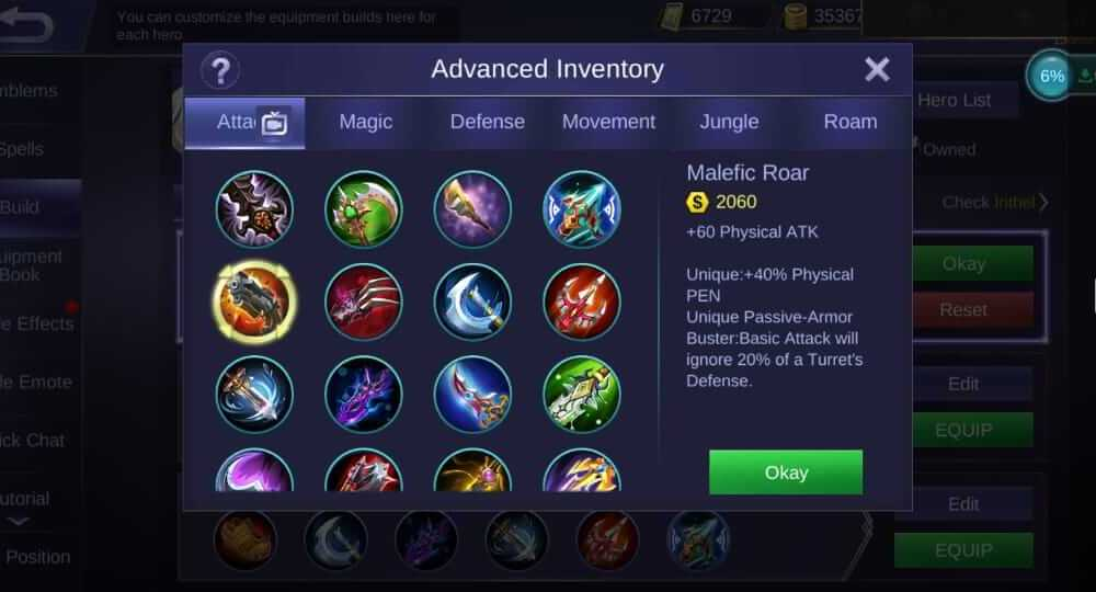 Cara Build Item Irithel 2019, Bisa SAVAGE