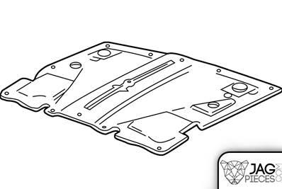 Insonorisation de capot référence C2C32839 de Jaguar X350
