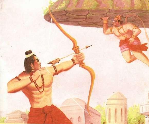 Image result for भरत और हनुमान जी