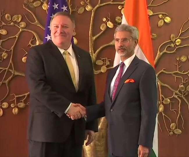 विदेश मंत्री एस जयशंकर से मिले माइक पोम्पियो, क्या इन अहम मुद्दों पर बनेगी बात