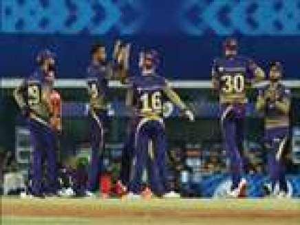 कोलकाता नाइटराइडर्स (KKR) की टीम। ( फोटो-एएनआइ )