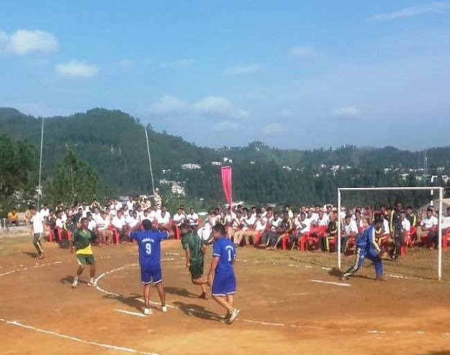 आइटीबीपी में अंतर वाहिनी रंनिग हैंडबॉल प्रतियोगिता शुरू