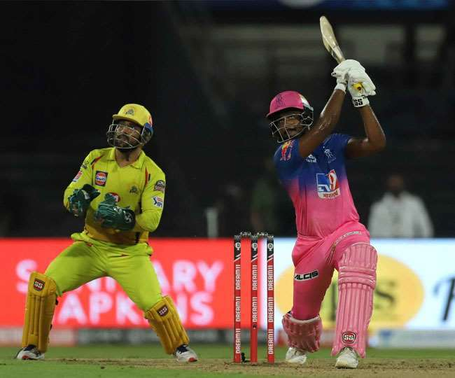 राजस्थान रॉयल्स (RR) का मुकाबला चेन्नई सुपरकिंग्स (CSK) से।