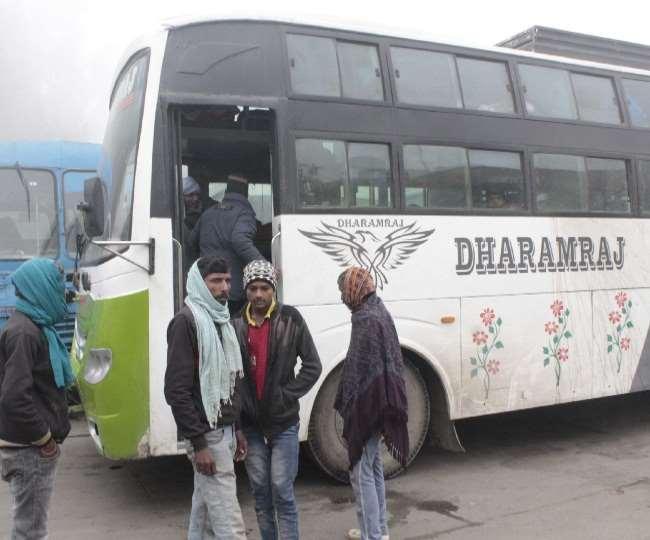 यात्रियों का क्या कसूर, टैक्स न देने पर आरटीए ने जब्त की बस, रात भर भूखे पेट ठंड में ठिठुरे Panipat News