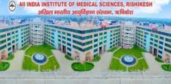 AIIMS, Rishikesh Recruitment 2019