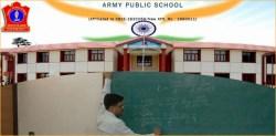 Army Public School, Gopalpur Recruitment 2019