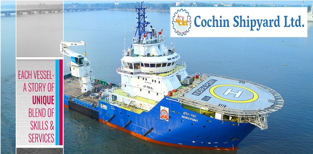 Image result for Cochin Shipyard Limited