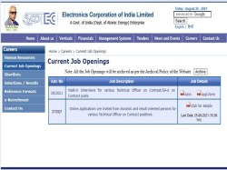 ECIL, Hyderabad Recruitment 2019