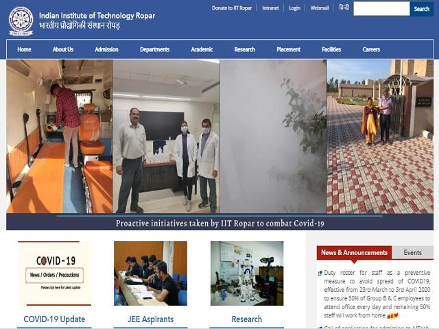 Apply Online for Junior Research Fellow (JRF) Posts