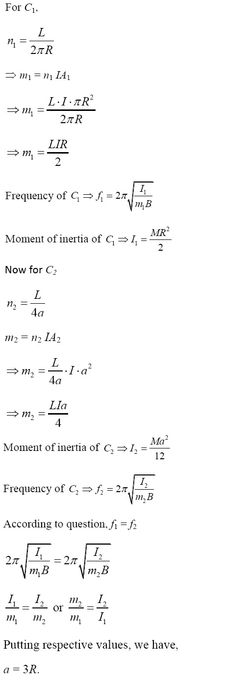 NCERT Exemplar Solutions, CBSE 12th Physics, Magnetism